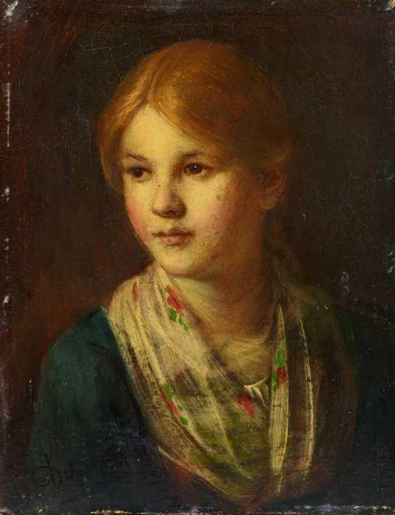 Portrait of a Tyrolean girl - photo 1