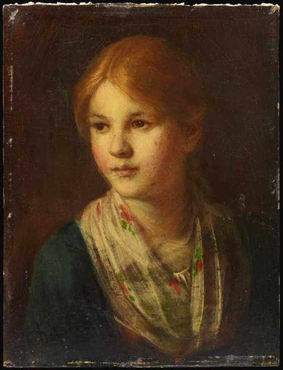 Portrait of a Tyrolean girl - photo 2