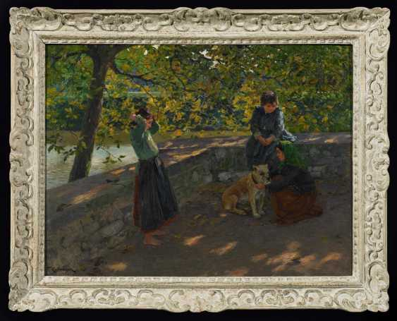 """Children with a dog (""""Gypsy children"""") - photo 2"""