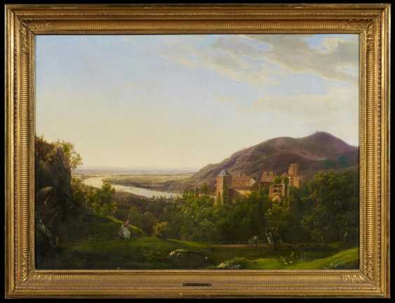 View over the Neckar valley and the Heidelberg castle - photo 2
