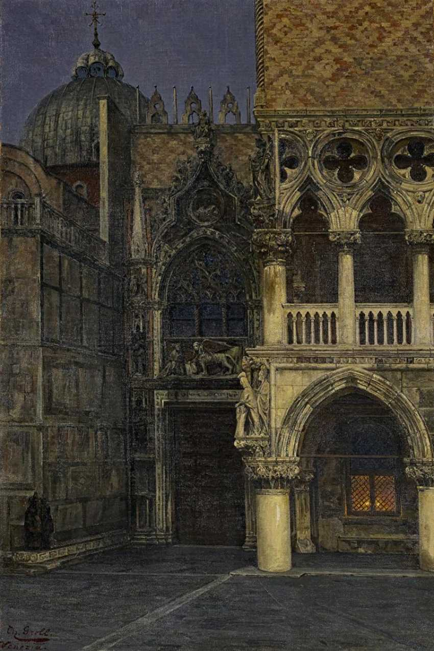 The Porta della Carta between San Marco and the Doge's Palace in Venice - photo 1