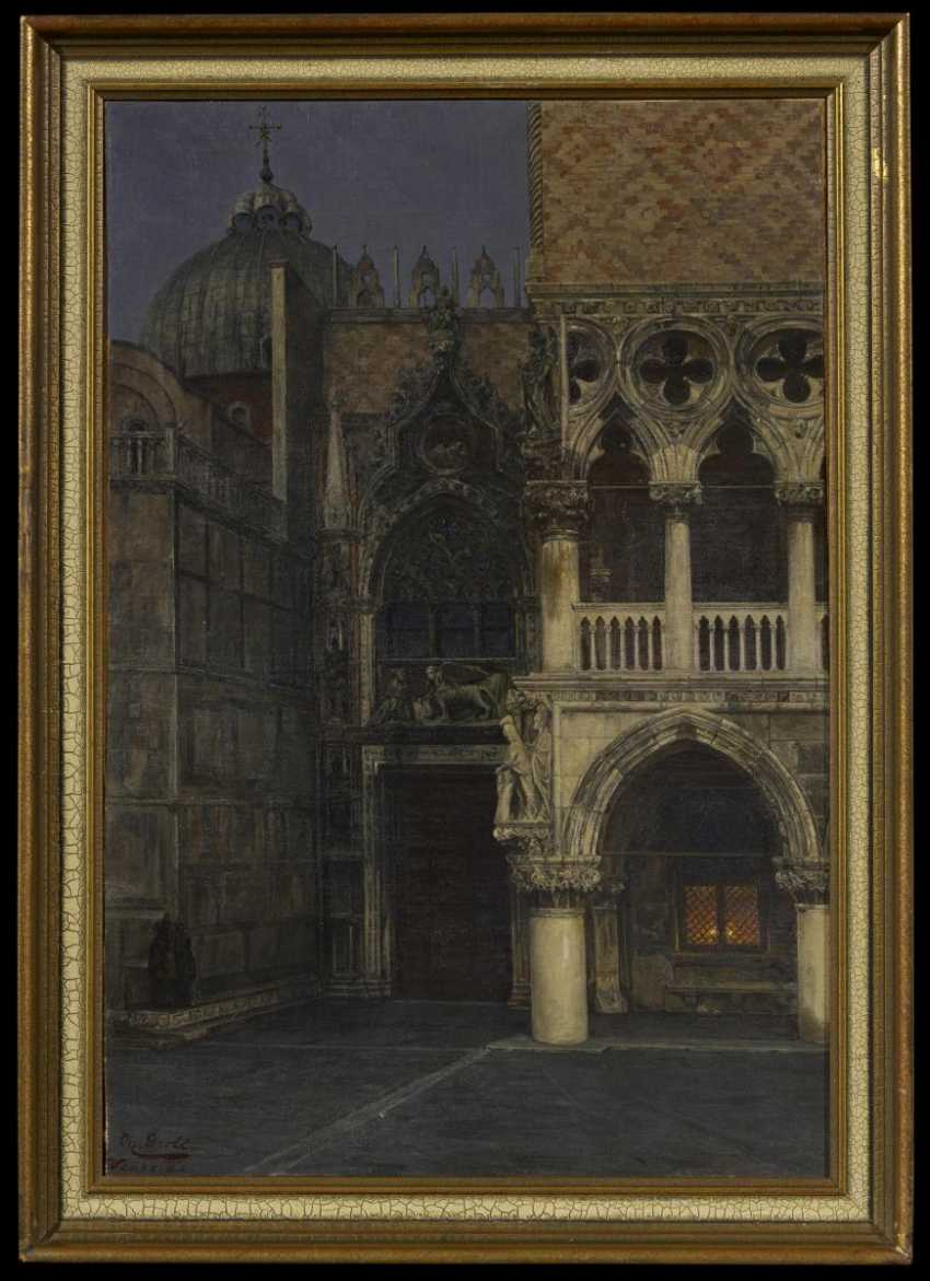 The Porta della Carta between San Marco and the Doge's Palace in Venice - photo 2