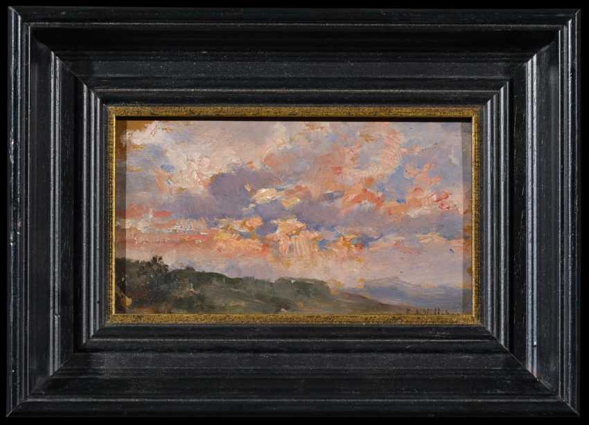 Study of clouds in front of the Spanish landscape - photo 2