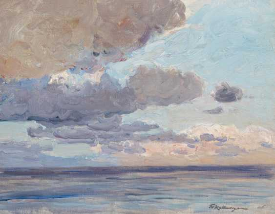Clouds over the sea - photo 1