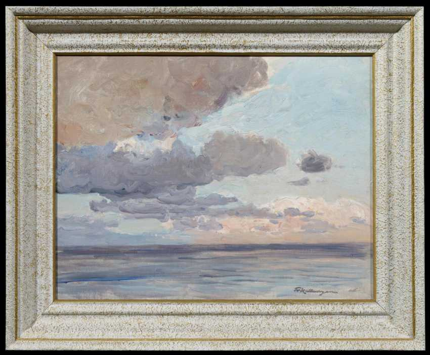 Clouds over the sea - photo 2