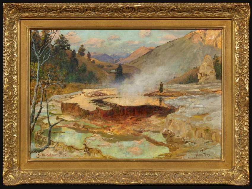 Die Mammoth Hot Springs im Yellowstone-Park - photo 2