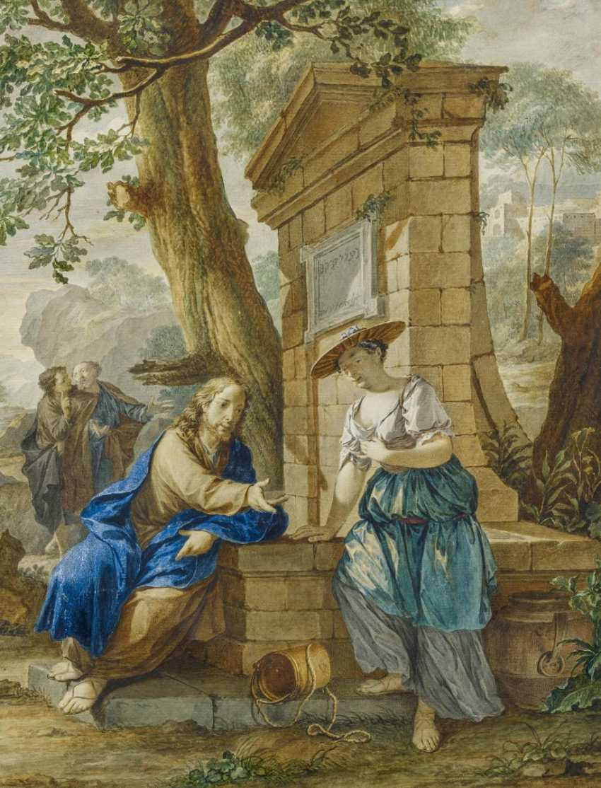 Christ and the Samaritan woman at the well - photo 1