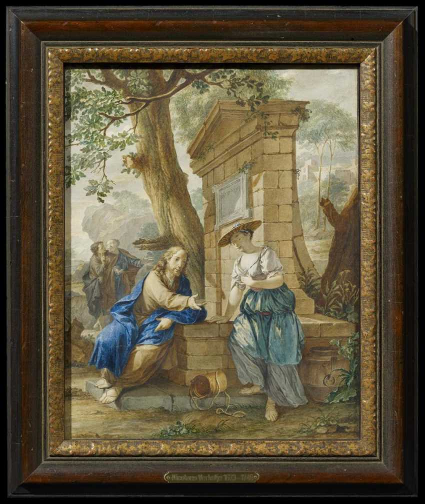 Christ and the Samaritan woman at the well - photo 2
