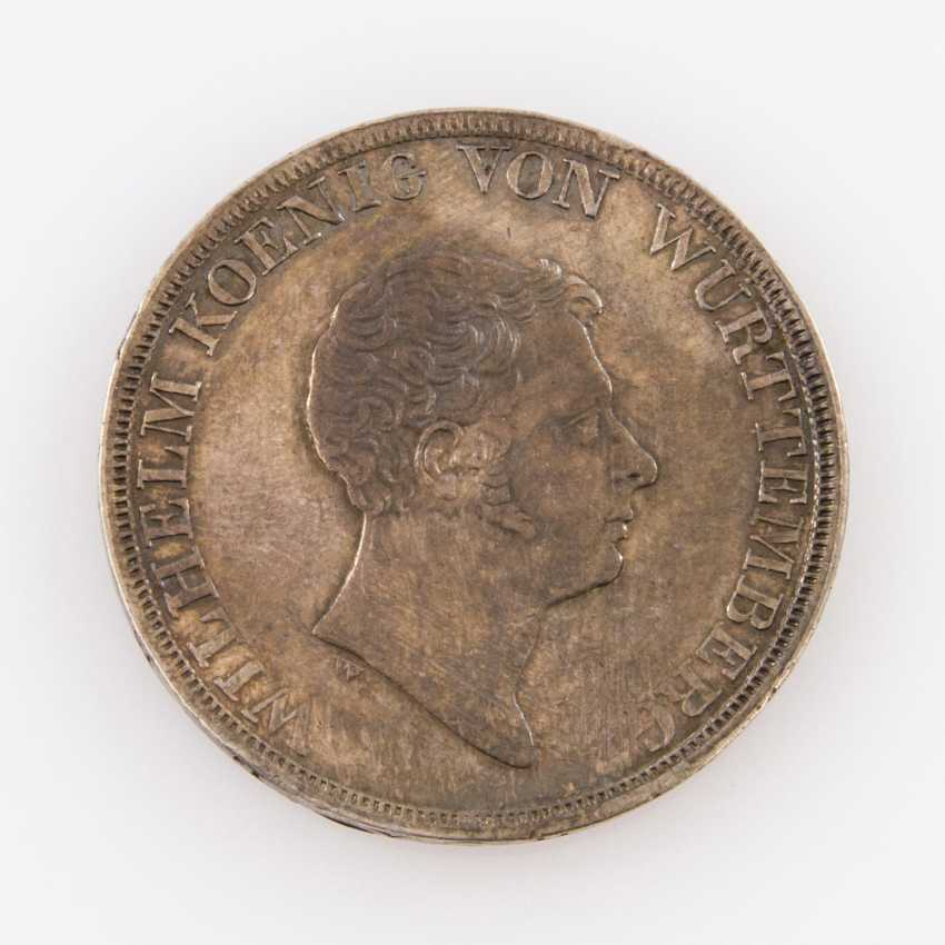 Württemberg Crown Thaler Of 1833, Freedom Of Trade, - photo 1