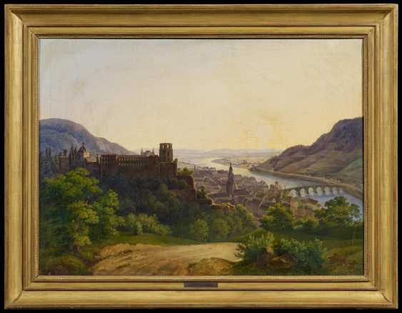 View of Heidelberg with the castle and the old town on the Neckar river - photo 2