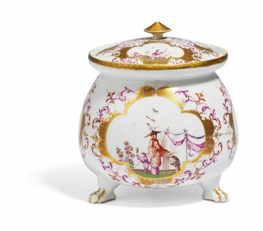Cream pot with Chinoiserien - photo 2