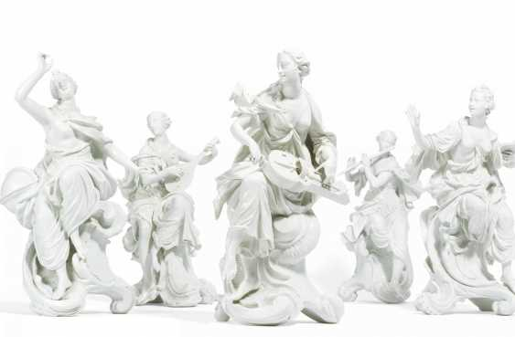 """5 figures from the series """"The muses"""" - photo 1"""