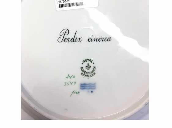 """Шесть """"Флора Даника"""" тарелка с животными принтами - фото 2"""