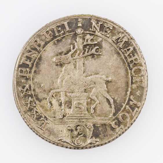 Stolberg - 1/6 Taler 1763 C(laus), Friedrich Botho of Stolberg-Stolberg - photo 1