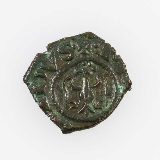 Italy, Kingdom of Sicily Denaro (con Aquila) o. J., Manfredi (1258-1266), - photo 1