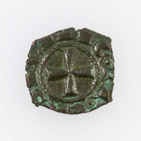 Italy, Kingdom of Sicily Denaro (con Aquila) o. J., Manfredi (1258-1266), - photo 2