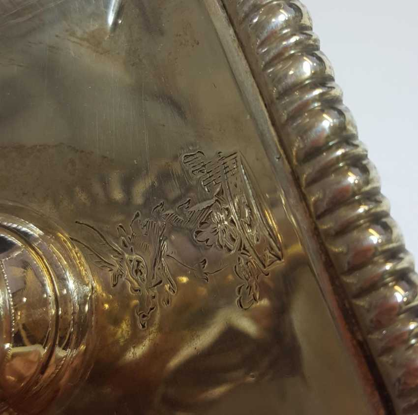 Pair of large George III girandoles with a column shaft - photo 7