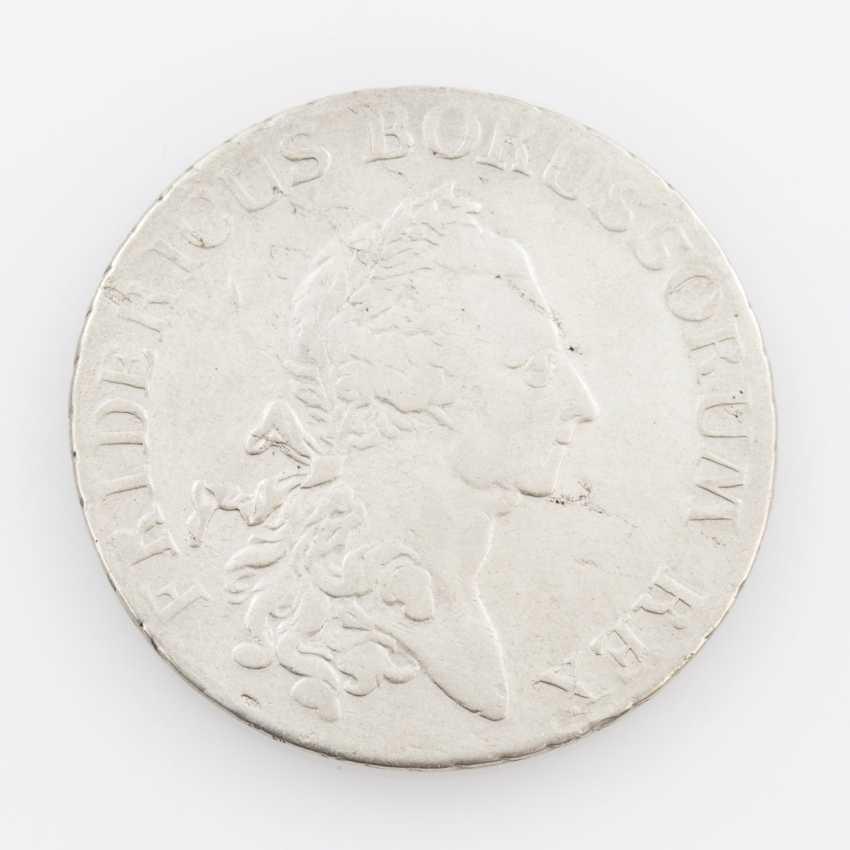 Prussia Empire Taler 1784 E, Königsberg, - photo 1