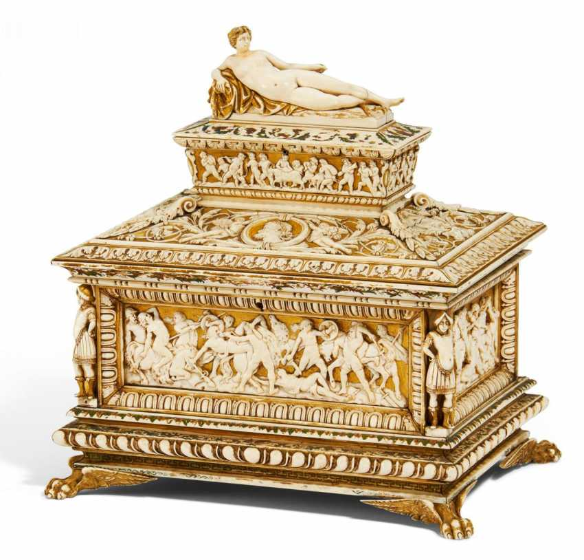 The Museum's casket in the Renaissance style - photo 1