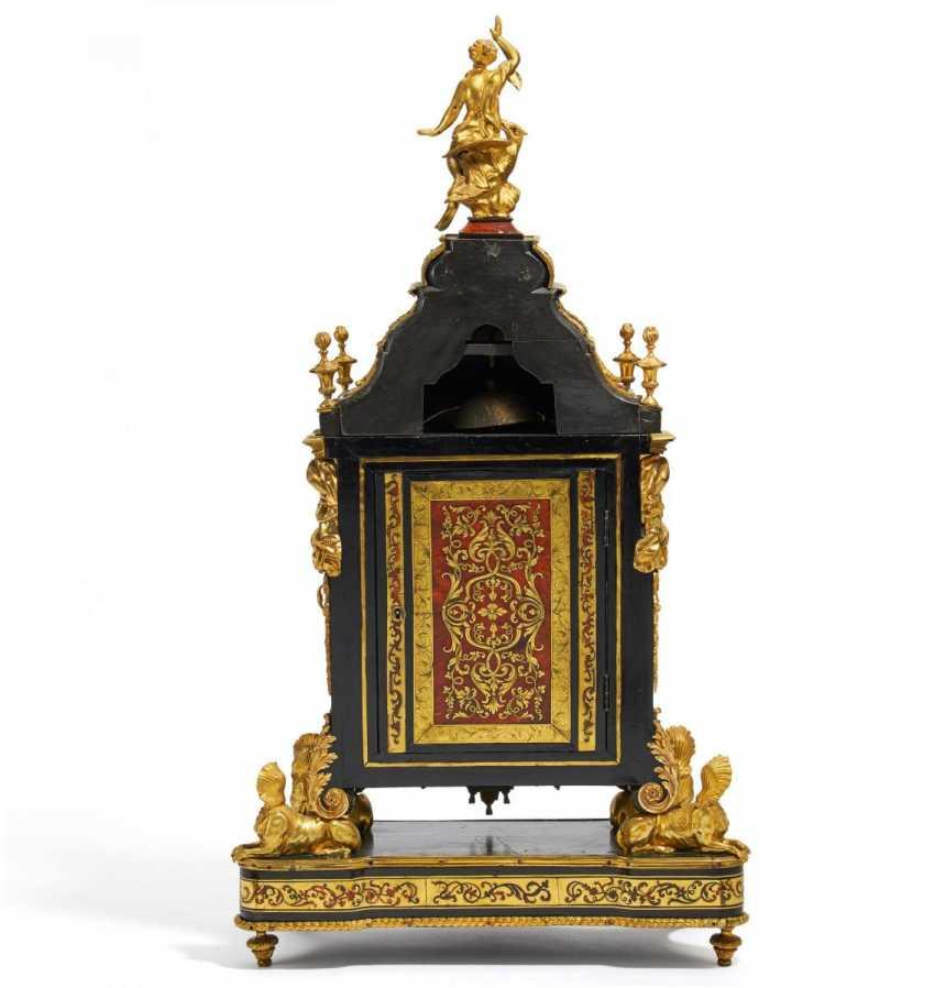 Great pomp pendule Louis XIV - photo 3