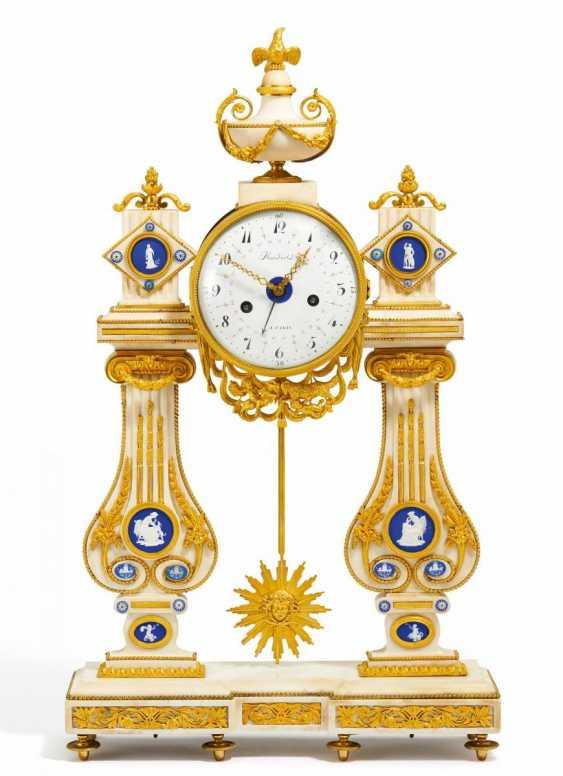 Great portal pendule Louis XVI - photo 1