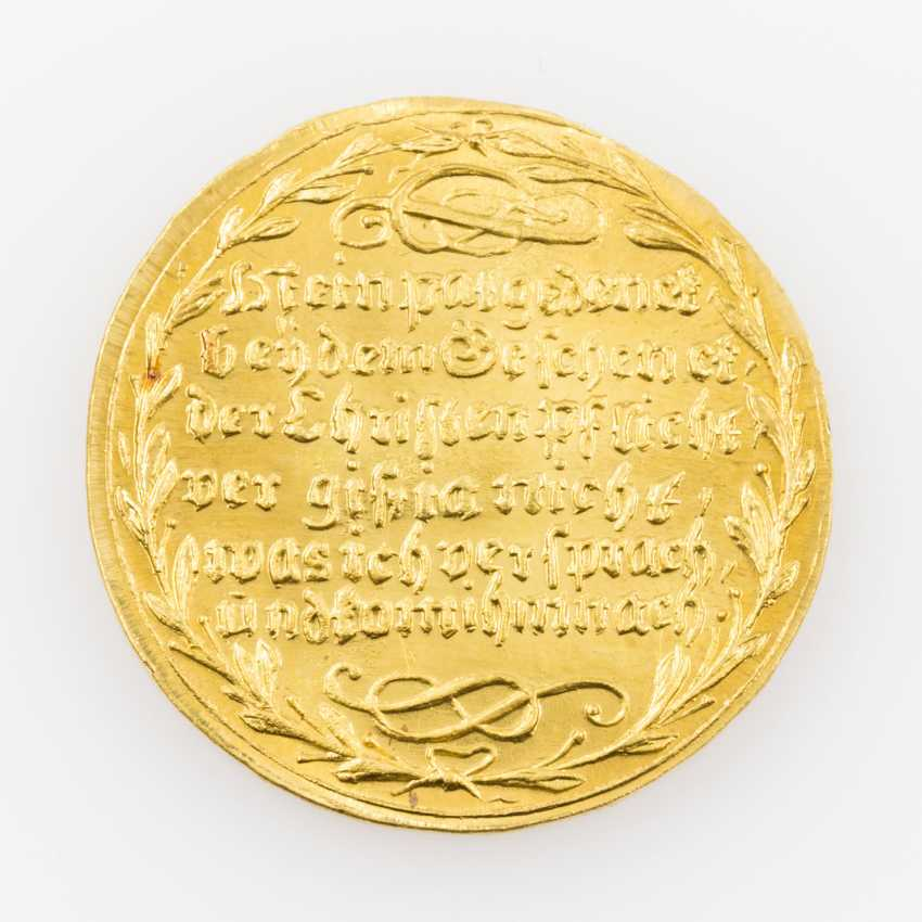Gold medal - Probably a later Restrike in Gold - photo 2