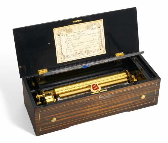 Roll music box with eight alternating melodies No. 4908 - photo 1
