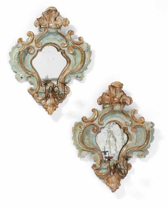 Pair Of Rococo Mirror Appliques - photo 1