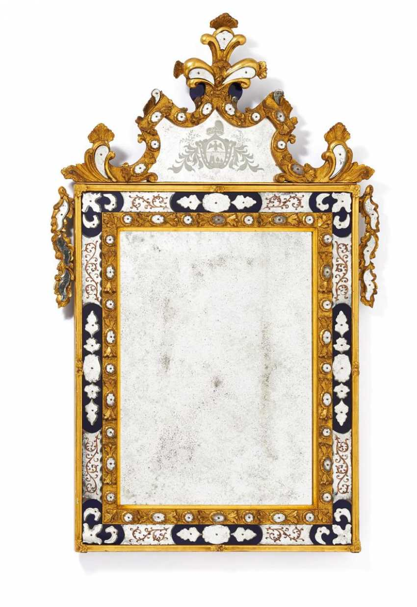 Large mirror with Ducal coat-of-arms style Baroque - photo 1
