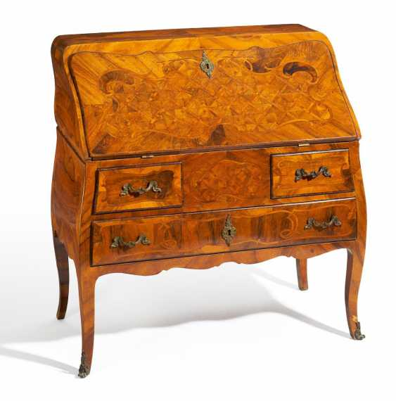 Writing chest of drawers Louis XV - photo 1