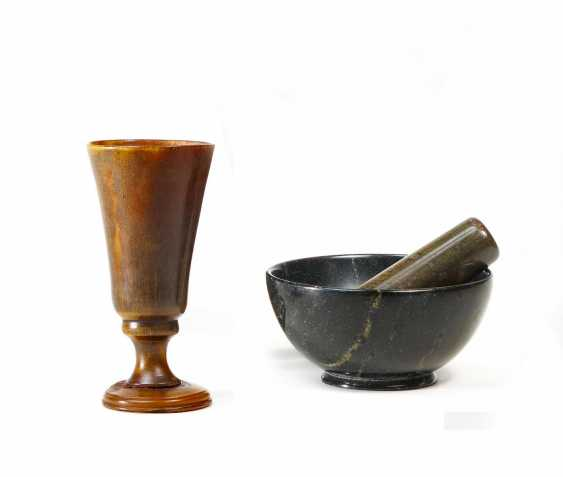 Rare miniature Cup, called a chalice of Poison - photo 1