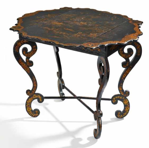 Game Table Baroque Style - photo 1