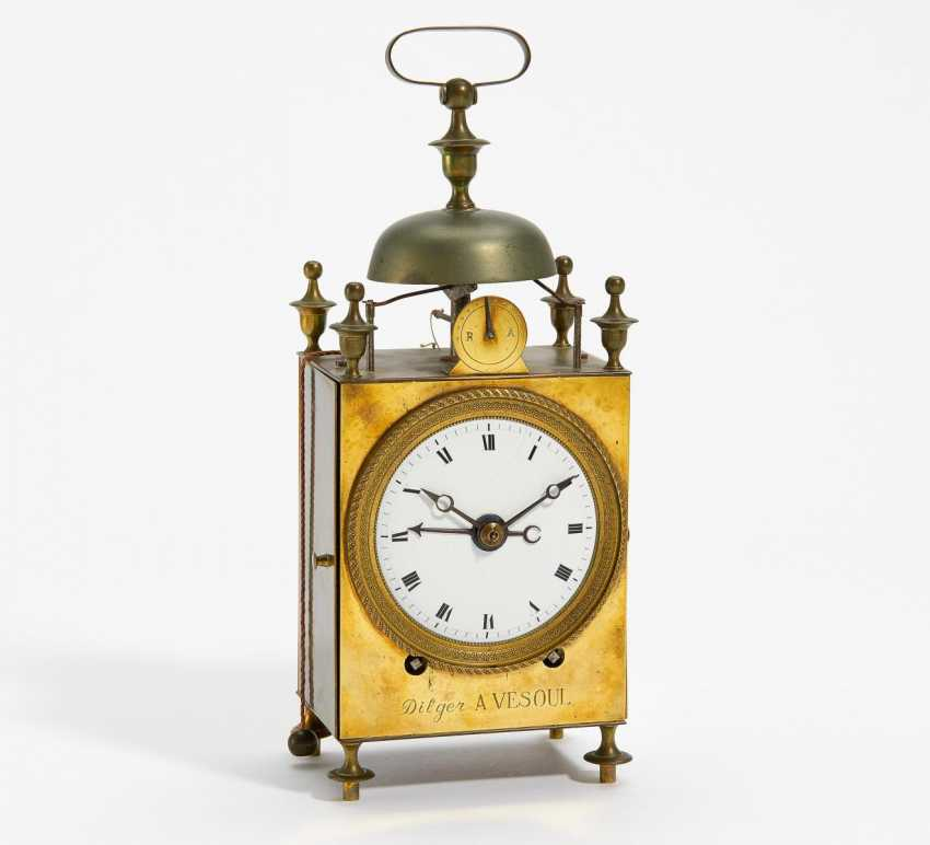 "Carriage clock, a so-called ""Capucine"" - photo 1"