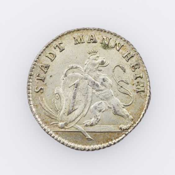Mannheim - unsigned silver Restrike of a Ducat 1792, - photo 1