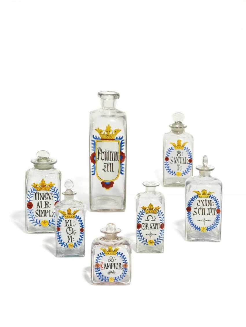 Seven Pharmacy Bottles - photo 1