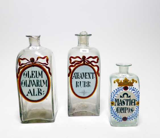 Three Pharmacy Bottles - photo 1