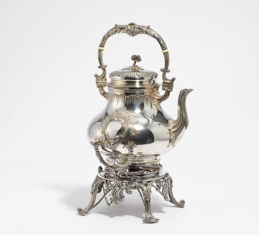 Magnificent teapot on a chafing dish - photo 1
