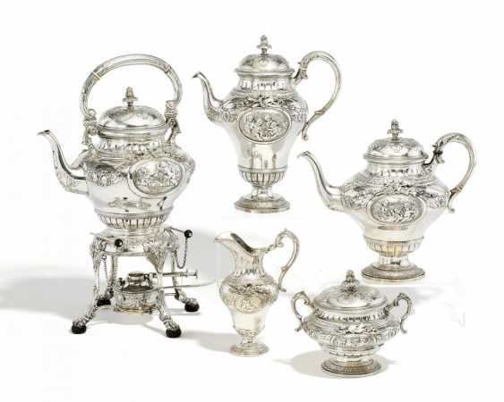 Magnificent five piece coffee and tea service - photo 1