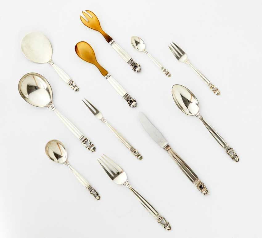 Cutlery set for six persons decor Acorn - photo 1