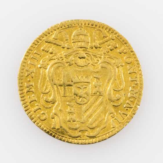 Vatikan/GOLD - Clemens XIII., Zecchino 1764, - photo 2