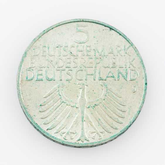 FRG 5 DM 1952 D, germanisches Museum - photo 2