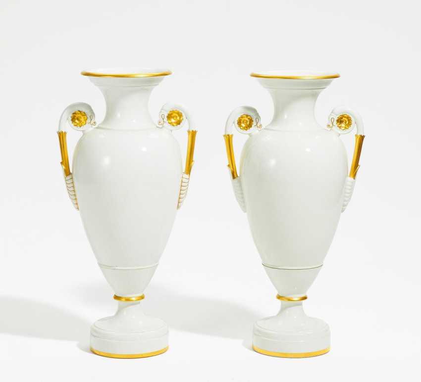 Pair of large floor vases - photo 1