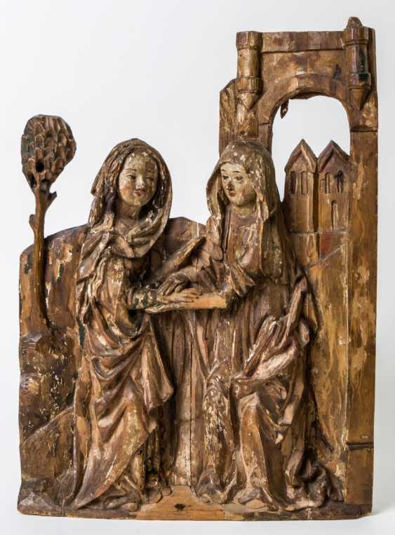 Rare Relief of the visitation of Mary - photo 1