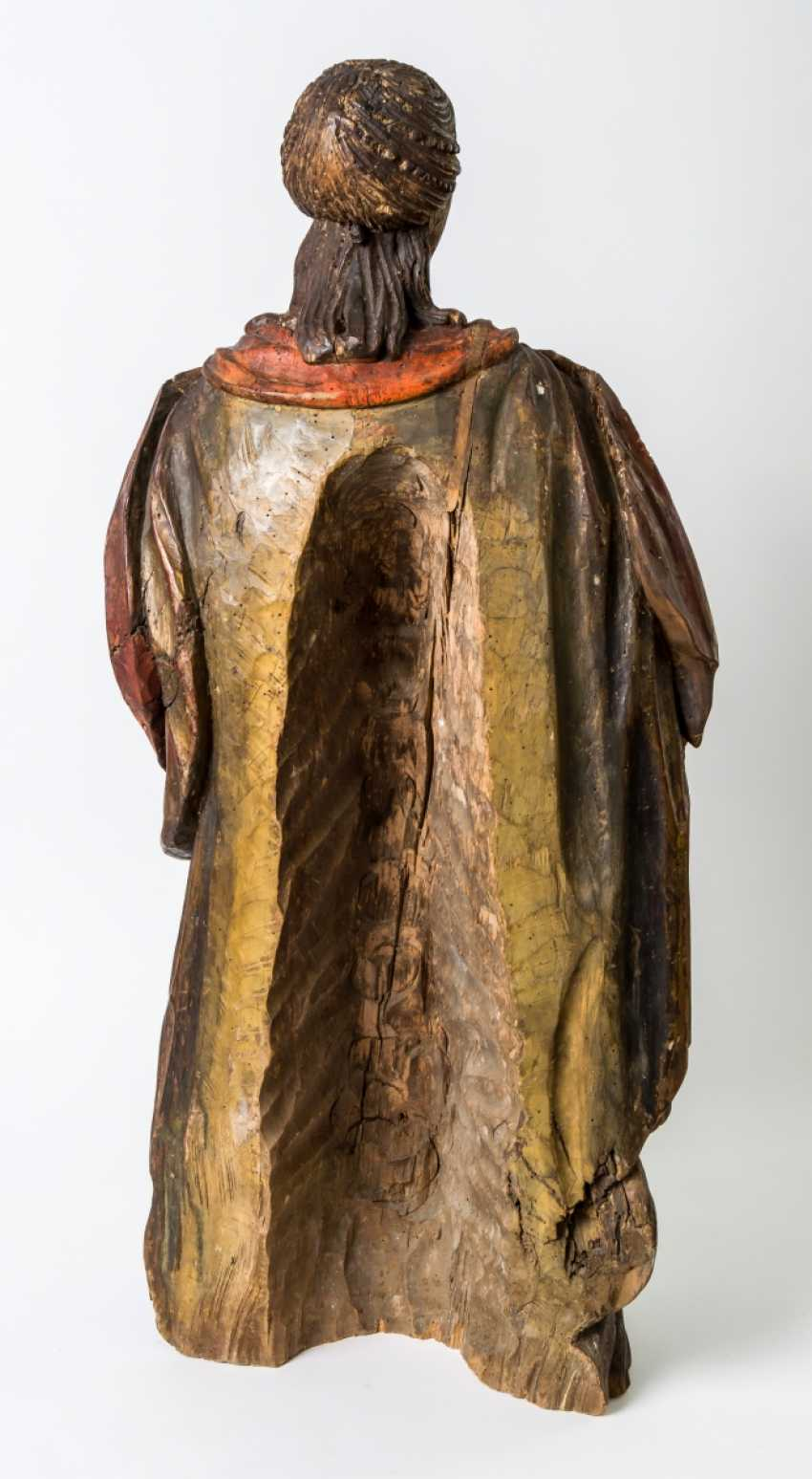 Very large figure of a praying Mary - photo 2