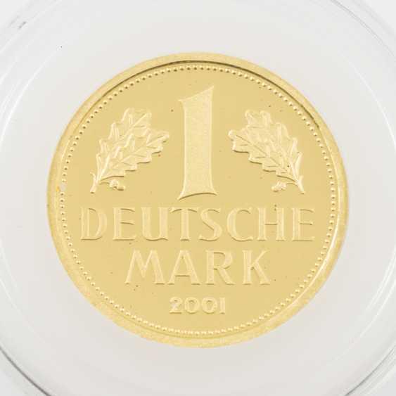 BRD/GOLD - 1 Deutsche Mark 2001 J, - Foto 1