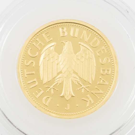 BRD/GOLD - 1 Deutsche Mark 2001 J, - Foto 2