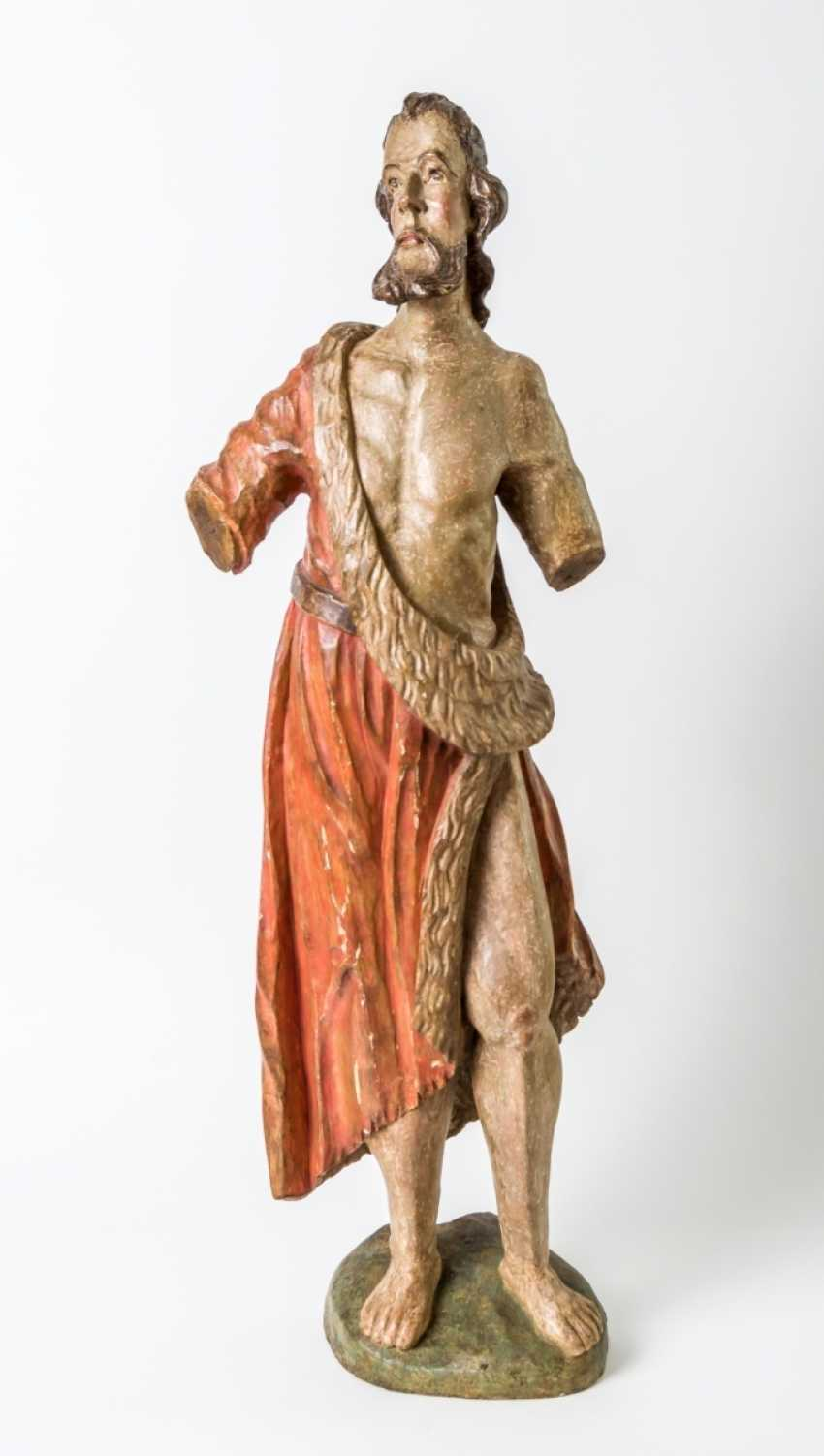 Very large sculpture of St. John the Baptist - photo 1