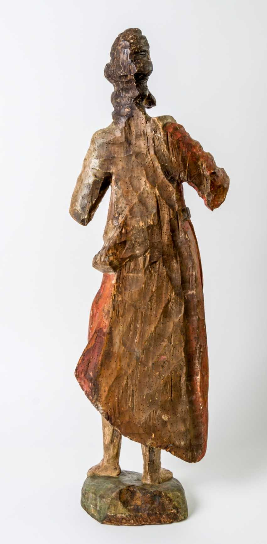 Very large sculpture of St. John the Baptist - photo 2