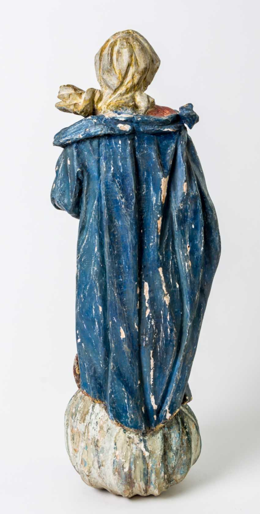 Large sculpture of Maria Immaculata - photo 2
