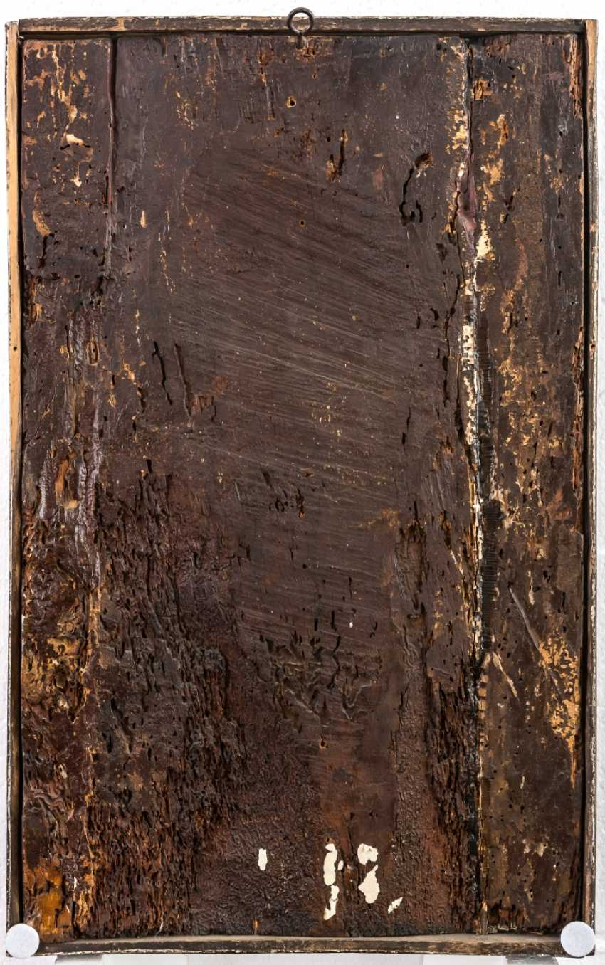 Important panel painting of the crucifixion of Jesus from the collection of Konrad Adenauer - photo 2